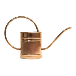 Master Craft 1.6 Liter Copper Watering Can - How about a copper watering can for a true romantic — or just someone with a really green thumb.