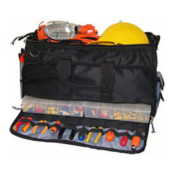 Morris - Easy Search Tool Bag with Plastic Tray, Large - Our Large Tool Bag with Plastic Tool Tray puts every tool at your fingertips.