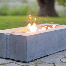 Modern Fire Pits by Dekko Concrete Decor