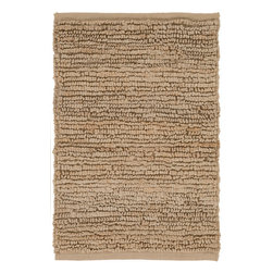 Surya - Hand Woven Continental Rug COT-1931 - 2' x 3' - Natural fibers woven in loops bring a casual look to any home decor. Designed with various fashion colors bring a solid impact to home decor. Hand woven in India from 1% natural fiber, the Continental Collection is a new trend.
