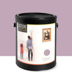 Imperial Paints - Eggshell Wall Paint, Gallon Can, Mystic Mauve - Overview: