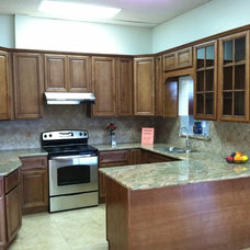 Traditional Kitchen Cabinetry by ADVANCE CABINETS & FLOORING INC