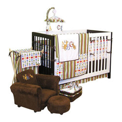 Trend Lab - Trend Lab Dr. Seuss ABC 4-Piece Crib