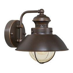"Vaxcel - Vaxcel OW21581BBZ Harwich 8"" Outdoor Wall Light Burnished Bronze - Vaxcel OW21581BBZ Harwich 8"" Outdoor Wall Light Burnished Bronze"
