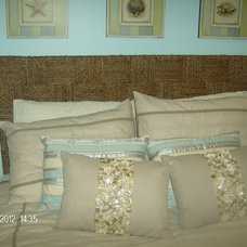 Tropical Headboards Guest Bed Room