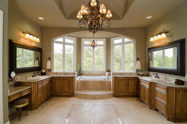 Traditional Bathroom by Design Alchemy