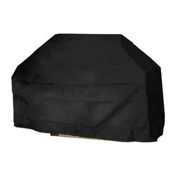 "Mr Bar B Q - Large Grill Cover 65x20x40"" - Mr. Bar-B-Q Backyard Basics Eco-Cover Large Grill Cover is made of Eco-tech material that is 100% PVC free. Dual-function layers for added strength & weather resistance; Specifically coated for enhanced water protection; Material resists extreme temperatures; Protects your property from dirt  dust  pollen  sap & rain; Drawstring closure for a secure fit. Size: 65 in x 20 in x 40 in.  This item cannot be shipped to APO/FPO addresses. Please accept our apologies."