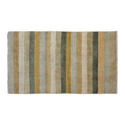 1800-Get-A-Rug - Oriental Rug Striped Modern Gabbeh Hand Knotted Rug Sh9294 - About Modern & Contemporary