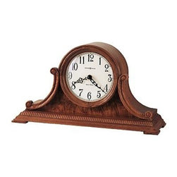 HOWARD MILLER - Howard Miller Anthony 77Th Anniversary Edition Tambour Mantel Clock - This 77th Anniversary Edition tambour mantel clock is rich in details.
