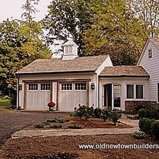 Traditional Garage And Shed by Old Newtown Builders LLC