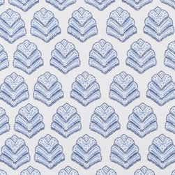 Serena & Lily - Extra Sanibel Pillowcases Chambray (Set of 2) - Inspired by an embroidered design we found on our travels, we experimented with the same shape until we landed a painterly effect that we loved. Dots, lines, curves create color and dimension against a white ground.
