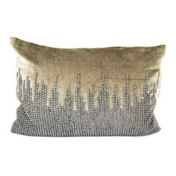 Design Accents Velvet Pillow - 20L x 14W in.