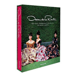 Oscar de la Renta - Oscar de la Renta is synonymous with designer style.  Oscar de la Renta , brought to you by the premier publisher of luxury books, celebrates more than forty years of fashion design with the iconic Dominican Republican.  Celebrities regularly flaunt his red carpet looks that are sensual and feminine without being over-the-top.  Oscar de la Renta  is an updated version of the 2002 edition which includes personal images from de la Renta.  This book reveals a glimpse into what inspires this fashion design icon and how it translates to the runway.  This hardcover coffee table book has more than 200 pages filled with glamour and the vibrant styles of Oscar de la Renta.