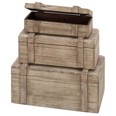 Beach Style Storage Boxes by Modern Furniture Warehouse