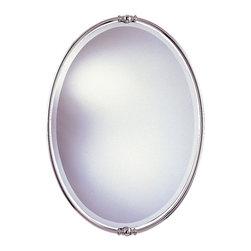 Murray Feiss - Murray Feiss MR1044PN New London Polished Nickel Mirror - Murray Feiss MR1044PN New London Polished Nickel Mirror