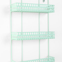 Triple Decker Shelf, Mint - This wall organizer could work in just about any space, but I'd love it by a desk area for housing everything from pencil cups to cards.