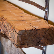 Rustic Fireplace Mantels by Urban Timber - Reclaimed Wood Company