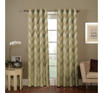 Contemporary Curtains by Bed Bath & Beyond