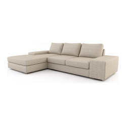 sofa beds from the Viesso line are built one at a time in Los Angeles