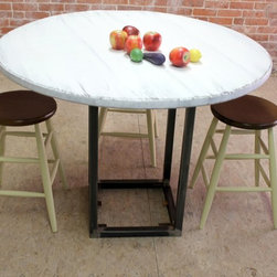 Zinc and Steel Tables - http://www.ecustomfinishes.com