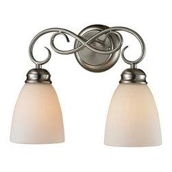 Cornerstone Lighting - Cornerstone Lighting 1102BB Chatham 2 Light Bathroom Vanity Light - Features: