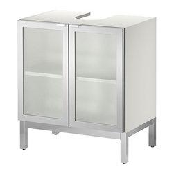 IKEA of Sweden - LILLÅNGEN Sink base cabinet with 2 door - Sink base cabinet with 2 door, aluminum