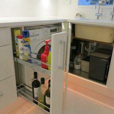 Modern Kitchen All white minimal kitchen