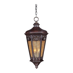 Lexington VX-Outdoor Hanging Lantern - Maxim Lighting's Lexington VX Collection is made with Vivex, a material twice the strength of resin, is non-corrosive, UV resistant and backed with a 3-Year Limited Warranty. Lexington VX features our Colonial Umber finish and Night Shade glass.