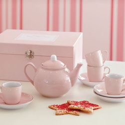 Porcelain Tea Set - Foodies are often entertainers at heart. Kids love to have friends over for parties, just like adults.
