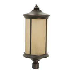 Craftmade - / Classic 1 Light Outdoor Large Post Mount from the Arden Collection - The Arden collection is functional with inspiring outdoor lighting design.