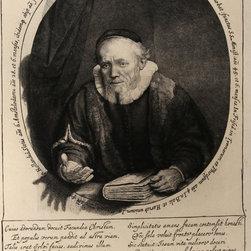 Rembrandt van Rijn, Portrait de Jean Corneille Sylvius (B280), Heliogravure - Artist:  Rembrandt van Rijn, After by Amand Durand, Dutch (1606 - 1669)