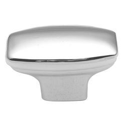 Hickory Hardware - Eclipse Polished Chrome Cabinet Knob - Bridges contemporary and traditional design. Offering a deep rooted sense of history in some, with an updated feel and cleaner lines.