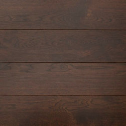 Eddie Bauer Floors - Eddie Bauer Floors - Timber Cut - Black Canyon - Wide Plank Oak Floor - Timber Cut Black Canyon reflects the bold character and natural grain of historic hand sawn plank floors. Wide planks in long lengths feature the elemental beauty and character of the wood.