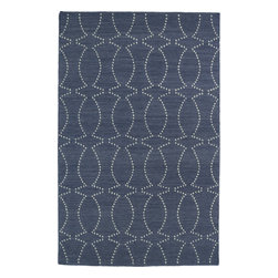 """Kaleen - Kaleen Glam GLA07 (Grey) 3'6"""" x 5'6"""" Rug - This Flat Weave rug would make a great addition to any room in the house. The plush feel and durability of this rug will make it a must for your home. Free Shipping - Quick Delivery - Satisfaction Guaranteed"""