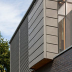 Private Residence in Toronto Canada - VMZ Interlocking and Metafor panels in QUARTZ-ZINC