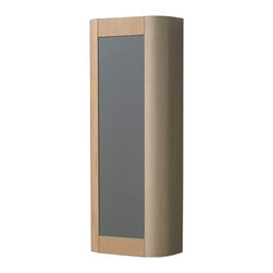 Whitehaus - Whitehaus Collection Aeri 15W x 39.25H in. Vertical Wall Mount Bathroom Storage - Shop for Bathroom Cabinets from Hayneedle.com! The Whitehaus Collection Aeri 15W x 39.25H in. Vertical Wall Mount Bathroom Storage Cabinet WHAEMEB03 delivers beauty and function to your bathroom with a durable wood construction and mirrored door. Four shelves provide plenty of storage space while a surface-mount design allows for easy installation.About Alfi Trade Inc. A place where beauty quality and service meet at last. Alfi Trade Inc. is a Los Angeles California company that recently merged with Whitehaus Collection in West Haven Connecticut to be their exclusive West Coast distribution center. Whitehaus Collection products transform the most essential rooms in the home: the kitchen and bath into reflections of the homeowners personal style. For over 10 years Whitehaus Collection has been providing people with high-end decorative plumbing fixtures that are beautiful and stand the test of time.