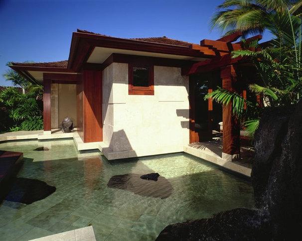 Asian Exterior by Saint Dizier Design