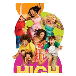 Blue Mountain Wallcoverings - Disneys High School Musical Self Stick Wall Accent Set - FEATURES: