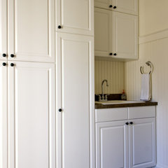 traditional laundry room by Simply Baths & Showcase Kitchens