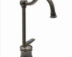 Whitehaus - Whitehaus Whfh3-C56-P Drinking Water Faucet - Point of use drinking water faucet with traditional spout and self closing handle