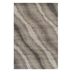 "Dalyn - Dalyn Omega OM623PE Pewter 9'6"" x 13'2"" Area Rugs - Dalyn Omega OM623PE Pewter 9'6"" x 13'2"" Area Rugs"