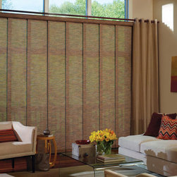 Hunter Douglas Skyline® Gliding Window Panels - Hunter Douglas Skyline® Gliding Window Panels
