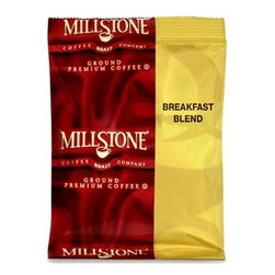 SMUCKER'S FOODSERVICE - MILLSTONE BREAKFAST BLEN 40/1.75 - CAT: Breakroom Beverage Service Coffee
