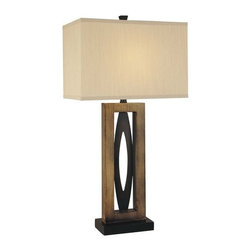 Ambience - Ambience 10506 Single Light Table Lamp with Three-Way Switch - Ambience 10506 Traditional / Classic Single Light Table Lamp with Three-Way Switch