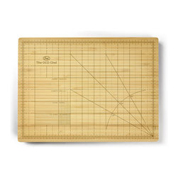 Fred and Friends - Obsessive Chef - Cutting Board - If you are one of those folks for whom things must be just so, then this cutting board is for you. The Obsessive Chef is a 9 x 12 inch cutting board made of strong, long-wearing beechwood, and it clearly spells out the most precise measurements in exacting detail. So, don't worry...it's OK to go a little overboard. And if you want to wash it twenty times after you use it, we won't tell. Full color, recyclable giftbox.
