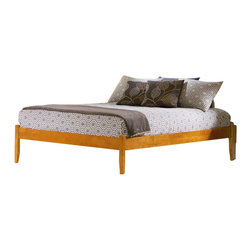 Atlantic Furniture - Atlantic Furniture Concord Caramel Latte Daybed with Open Footrail - Atlantic Furniture - Daybeds - AP8121007 - The Concord is a contemporary daybed with a clean design andample selection of colors. The Concord can coordinate and adapt to anybedroom or any Atlantic Furniture case goods. Set it up as a daybed oras a more traditional platform bed.Add under bed drawers for additional storage or a trundle for extracompany. Perfected with Atlantic Furniture's high build Five Step Finishing Process onEco-friendly hardwood the Concord Daybed is an ideal addition to anybedroom.Features: