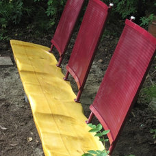 Contemporary Outdoor Benches tridogdude designs