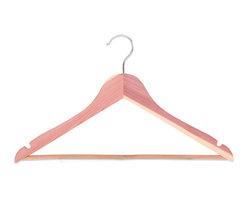 StorageManiac - StorageManiac Multifunctional High-Grade Cedar Suit Hangers, Pack of 5 - Features: