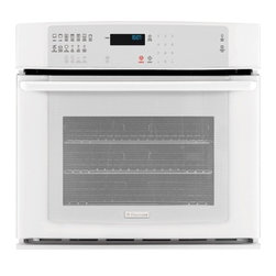 "Electrolux - IQ-Touch Series EI30EW35KW 30"" Single Electric Wall Oven with 4.2 cu. ft.  3rd E - The Electrolux EI30EW35 30 Single Electric Wall Oven will satisfy your every need With an amazing42 cu ft capacity you will be able tocook large items or large quatities of other dishesFeaturing3rd Element Convection Oven andSelf-Cleaning 7 Cooking M..."