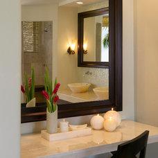 Tropical Bathroom by Smith Firestone Associates